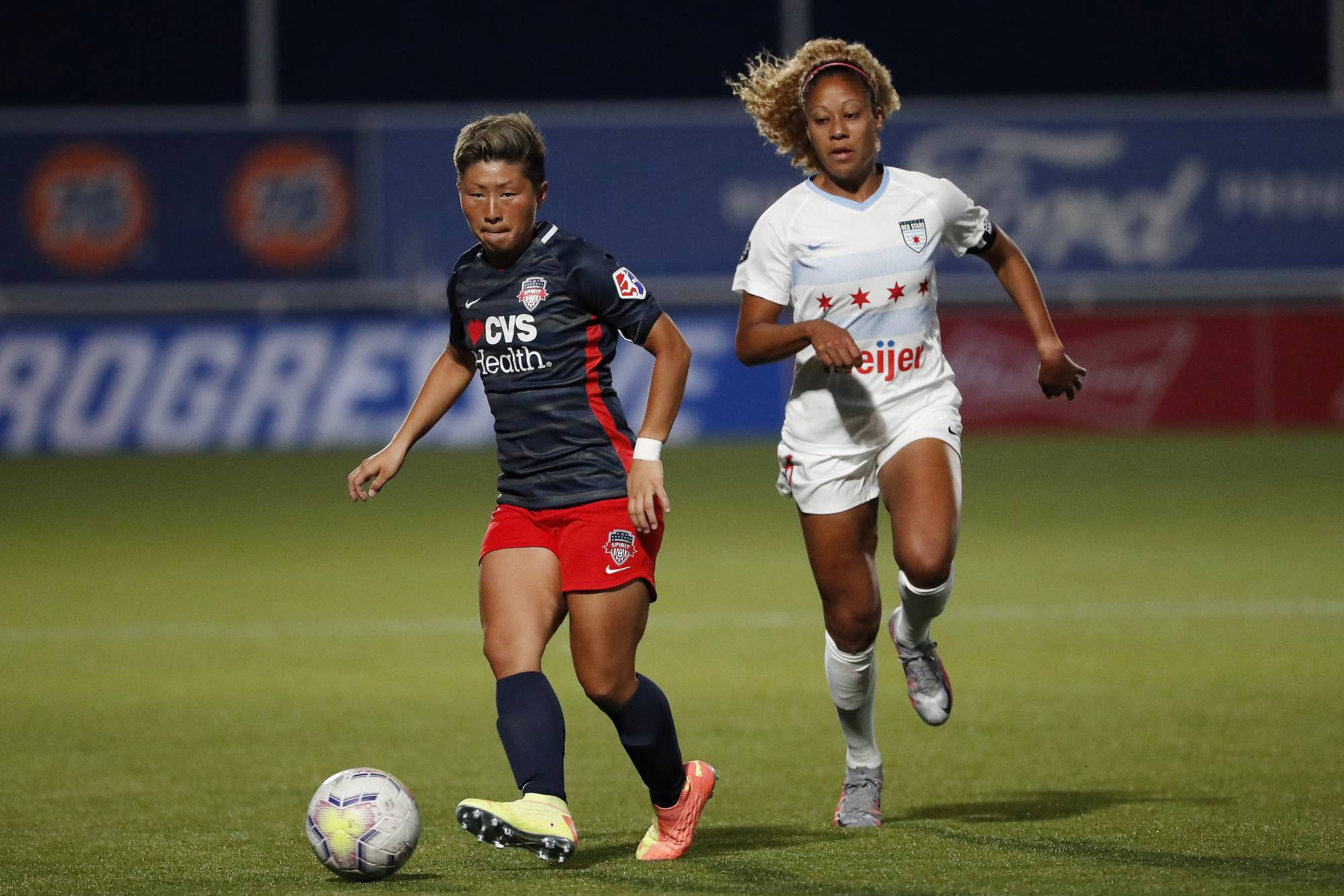 Before joining the Spirit at the end of 2019, Yokoyama played for the Nadeshiko League's Okayama Yunogo Belle and AC Nagano Parceiro as well as Germany's Frankfurt. | USA TODAY / VIA REUTERS