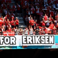 'For Christian': Danish fans prepare for final Euro 2020 group match