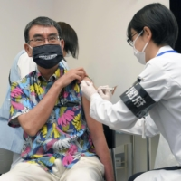 Japanese government not recommending in-school vaccinations