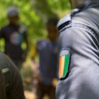 A police raid as part of a child labor probe in Soubre, Cote d'Ivoire | BLOOMBERG