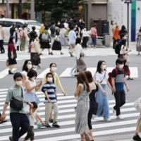 Tokyo reports 435 new COVID-19 cases, up nearly 100 from a week ago