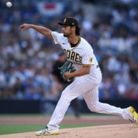Padres' Yu Darvish fastest MLB pitcher to get 1,500 strikeouts