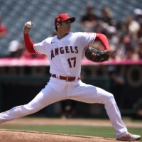 Shohei Ohtani gets no decision as Angels fall to Giants in 13 innings