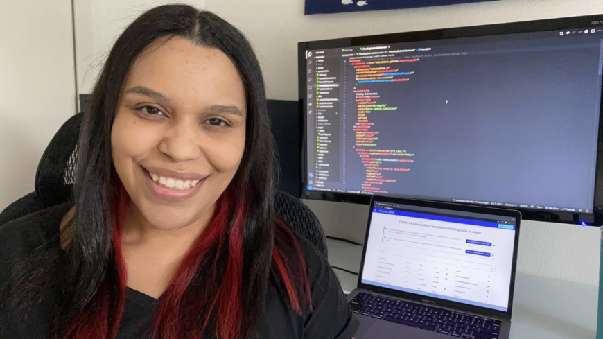 LaShawn Toyoda learned how to code during the pandemic. Japan's international community is glad she did.