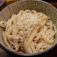 The portion sizes of handmade noodles are large at Menki Yashima Maruyamacho, so come with an appetite | REBECCA SAUNDERS