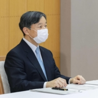Emperor Naruhito delivers address at U.N. meeting on water and disasters