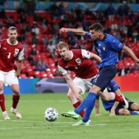 Substitutes spare Italy's blushes in win over Austria