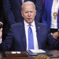 Though America's gross federal debt now stands at 107% of GDP — a post-WWII record — the Biden administration's 2022 budget has the country running by far the largest-ever peacetime deficits. | BLOOMBERG