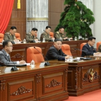 North Korea has maintained it has not recorded a single case of COVID-19 in the country, though outside experts have been skeptical of this claim.   KCNA / VIA KNS / VIA AFP-JIJI