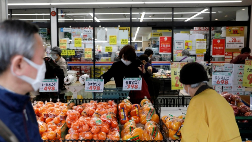 Japan's core consumer prices up 0.2% on year in June