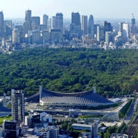 The Tokyo cityscape looks very green. But looks can be deceiving and the Japanese capital is not as it seems; it has a low percentage of park space (6.2%), especially when compared with other big cities. | PETER CASEY / USA TODAY / VIA REUTERS