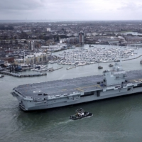 British aircraft carrier strike group to make port calls in Japan in September