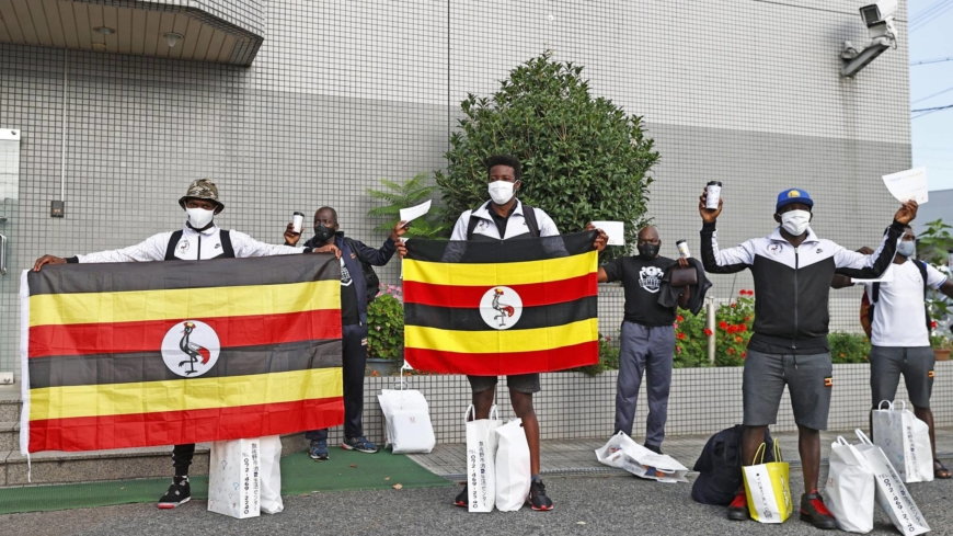 Ugandan athlete who fled Olympic training camp believed to have been found