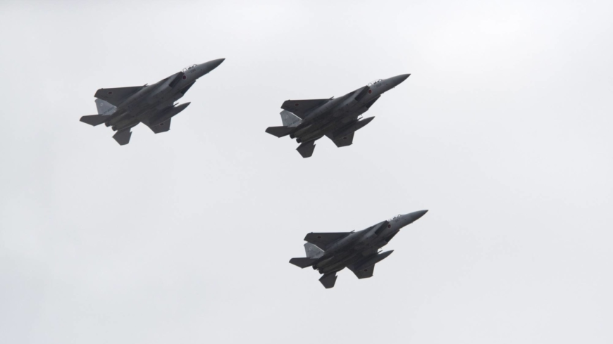 Japan's total number of fighter jet scrambles reaches 30,000