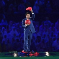 Full of surprises: Will the Tokyo Olympics opening ceremony have moments as meme-worthy as then-Prime Minister Shinzo Abe's appearance as video game character Mario at the Rio 2016 closing ceremony?