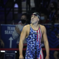 Katie Ledecky has won five Olympic gold medals during her career, including four during the 2016 Summer Games in Rio de Janeiro.  | USA TODAY / VIA REUTERS