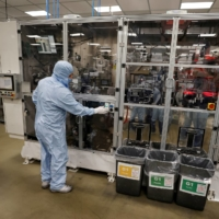 The Envision battery manufacturing plant at Nissan's Sunderland factory in the U.K. | REUTERS