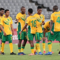 South Africa played Thursday's match against Japan with a slightly shortened bench and deployed a defensive strategy for most of the match.  | AFP-JIJI