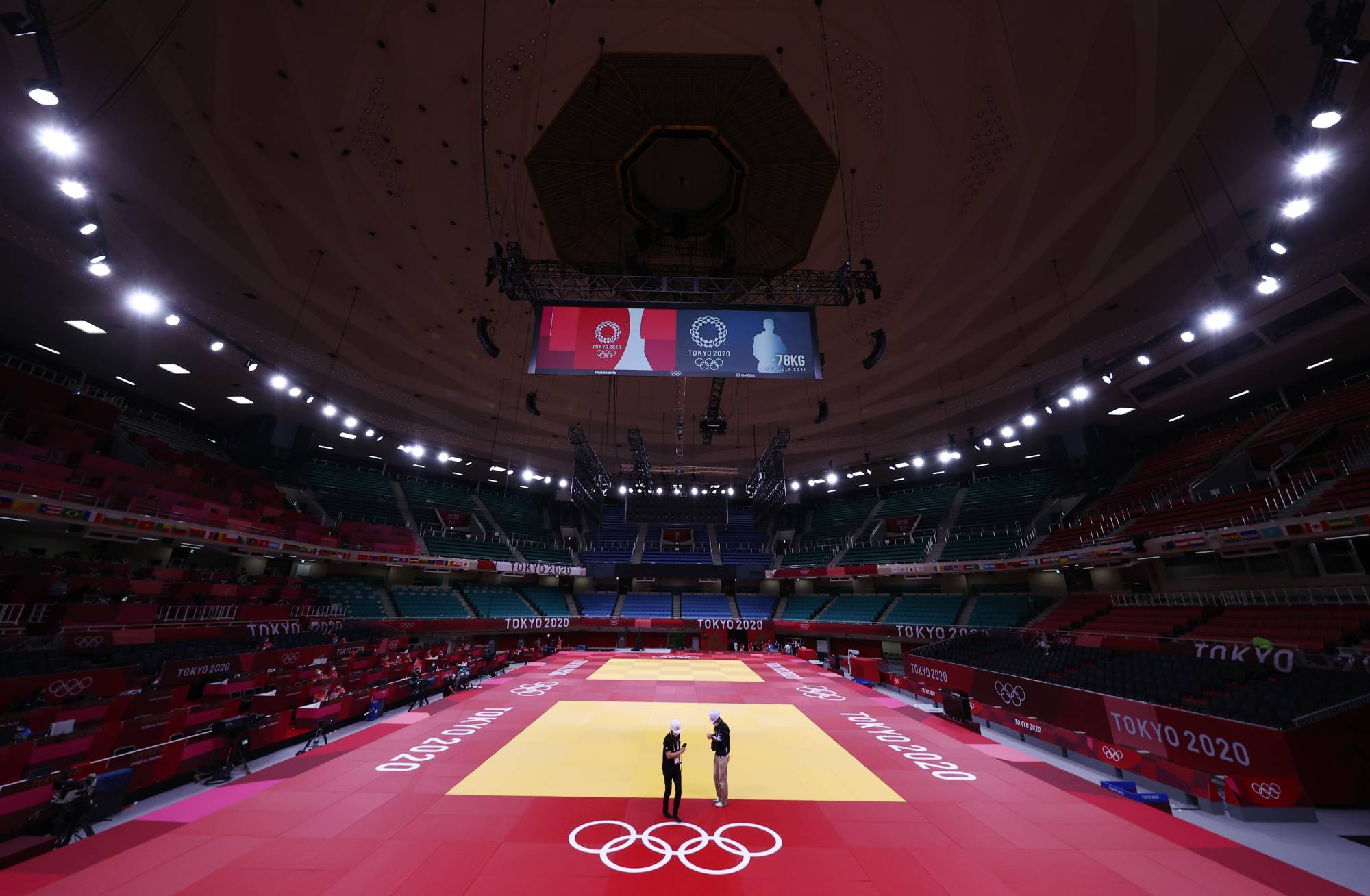 The iconic Nippon Budokan will host the judo competition at the Tokyo Games. | REUTERS