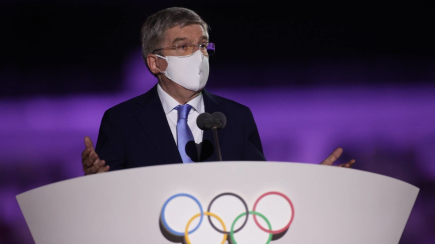 IOC's Bach draws ire in Japan over long opening ceremony speech