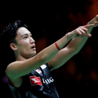 Kento Momota, the world's top badminton player in singles, wouldn't have even been able to play in his home Olympics if not for the pandemic-induced postponement. | REUTERS