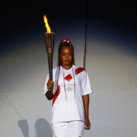 """""""Undoubtedly the greatest athletic achievement and honor I will ever have in my life,"""" Naomi Osaka said in a tweet after lighting the Olympic cauldron at the opening ceremony of the Tokyo Games."""