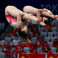 China 'Dream Team' wins first diving gold of Tokyo Games
