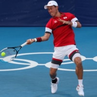 Kei Nishikori opens Games with a win and says he aims to 'bring better news'