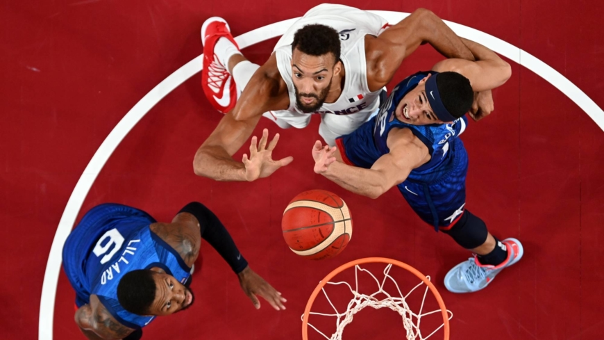 U.S. shocked by France in men's Olympic basketball
