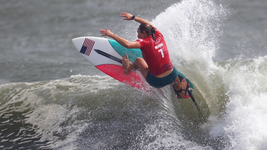 A surfer's biggest challenge? Picking the perfect wave