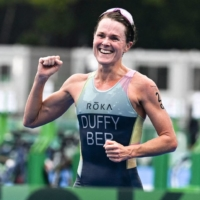 Flora Duffy wins women's triathlon for Bermuda's first-ever Olympic gold