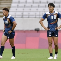 Host Japan crashed out of medal contention in the Tokyo Olympics men's rugby sevens after receiving a 36-12 group stage thumping at the hands of Canada on Tuesday morning.   KYODO