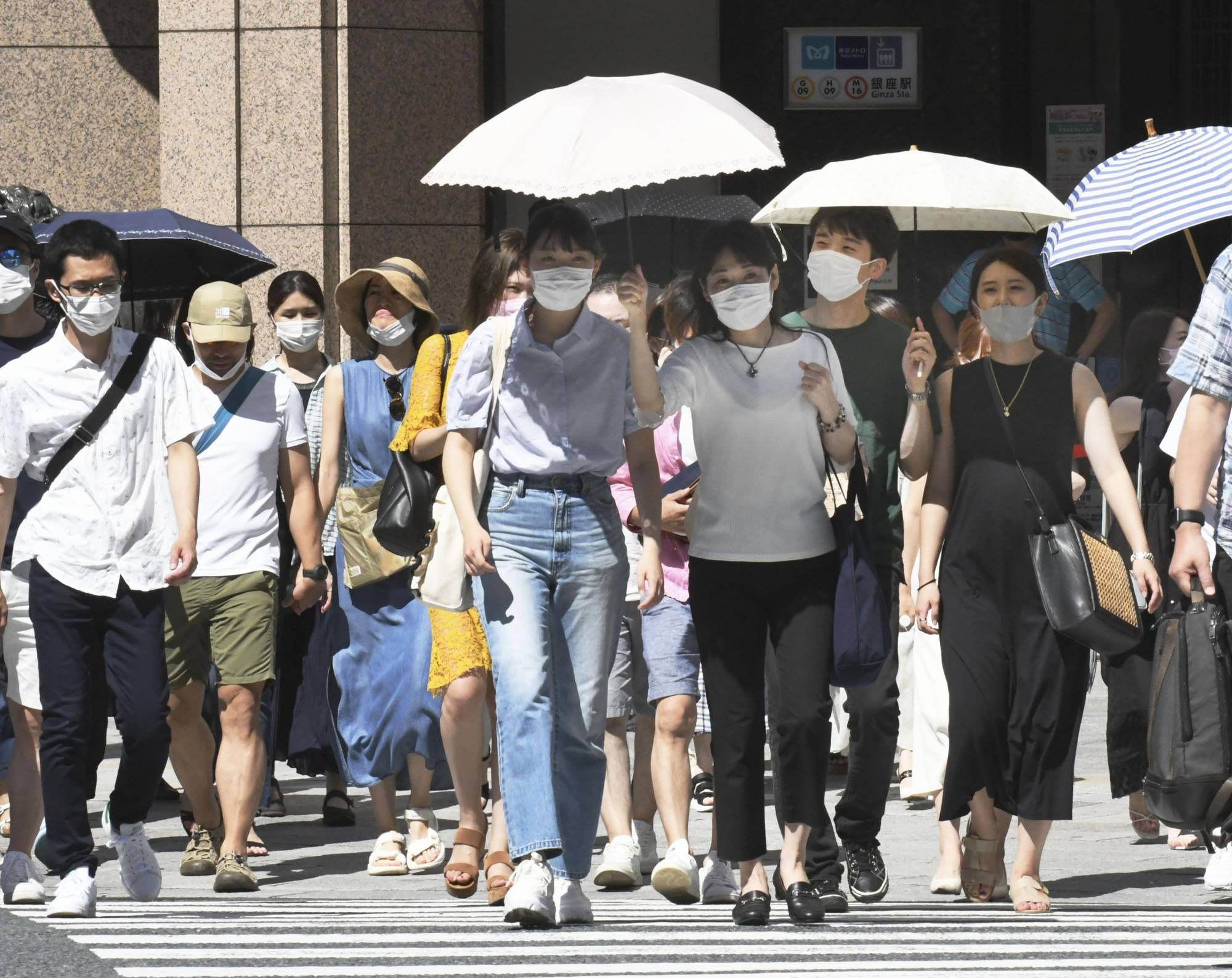 Tokyo confirmed 2,848 new COVID-19 cases Tuesday. | KYODO
