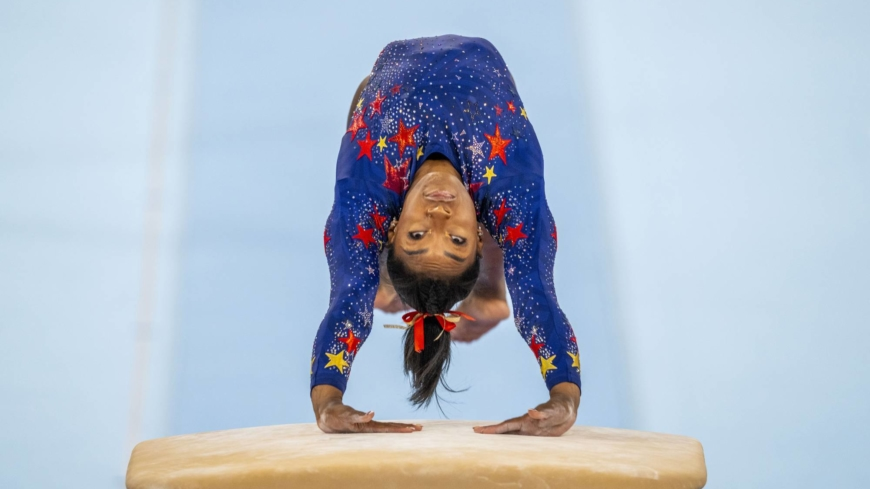 Simone Biles said she was not in a good place mentally to compete