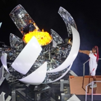 The many views of the 2020 Tokyo Olympics opening ceremony