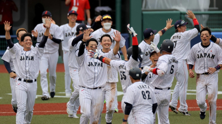 Samurai Japan squeaks out walk-off win over Dominican Republic in Olympic baseball opener
