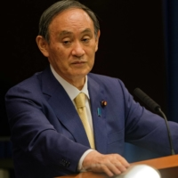 The Liberal Democratic Party is gearing up for its leadership election as Prime Minister Yoshihide Suga's term as LDP president expires on Sept. 30. | POOL / VIA REUTERS