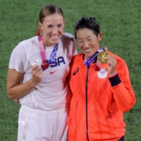 'Of course I can': Pitcher Yukiko Ueno ensures legacy with golden Olympic repeat