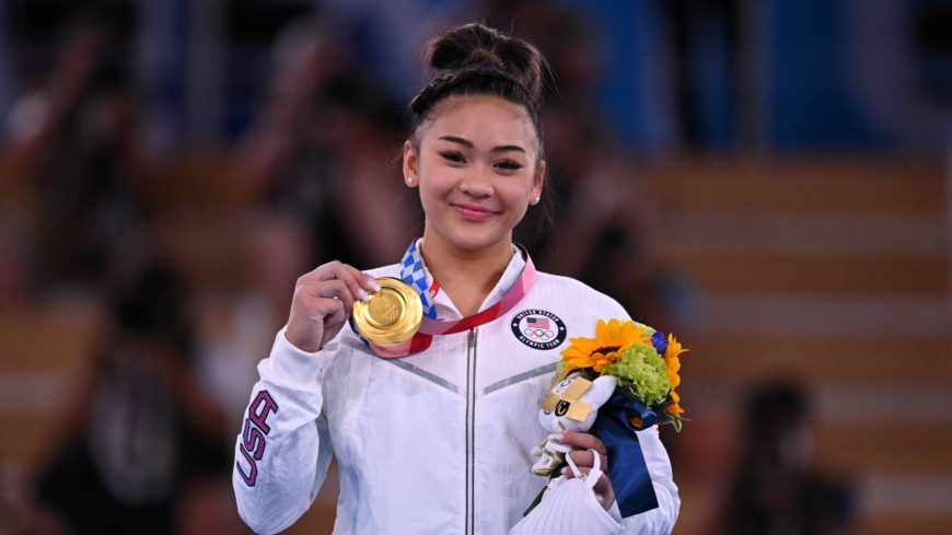 Sunisa Lee grabs gold in women's all-around at Tokyo Olympics
