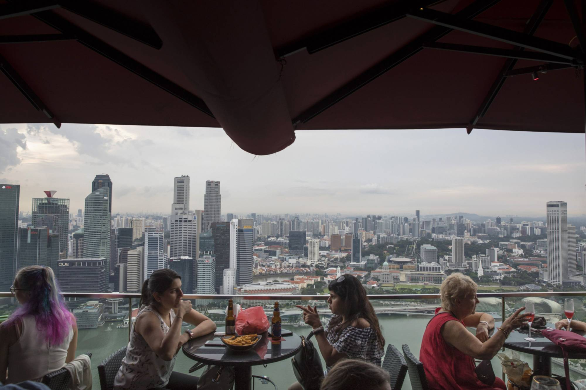 Singapore's framework for granting employment passes has been tightened in the past year.   BLOOMBERG
