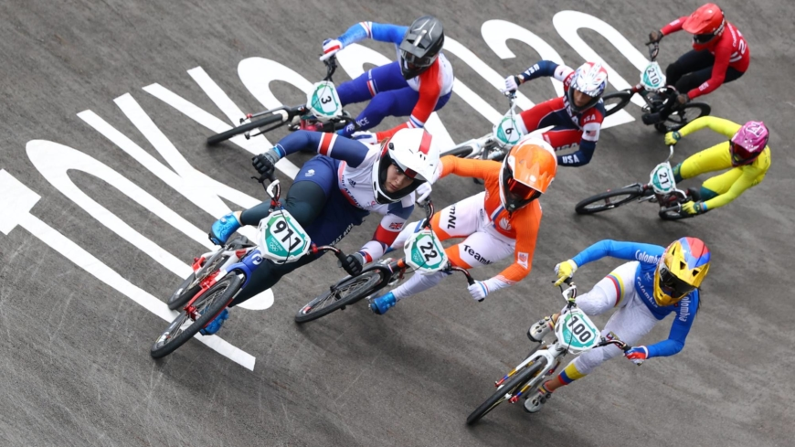 Thrilling — and dangerous — nature of BMX on full display at Tokyo Games