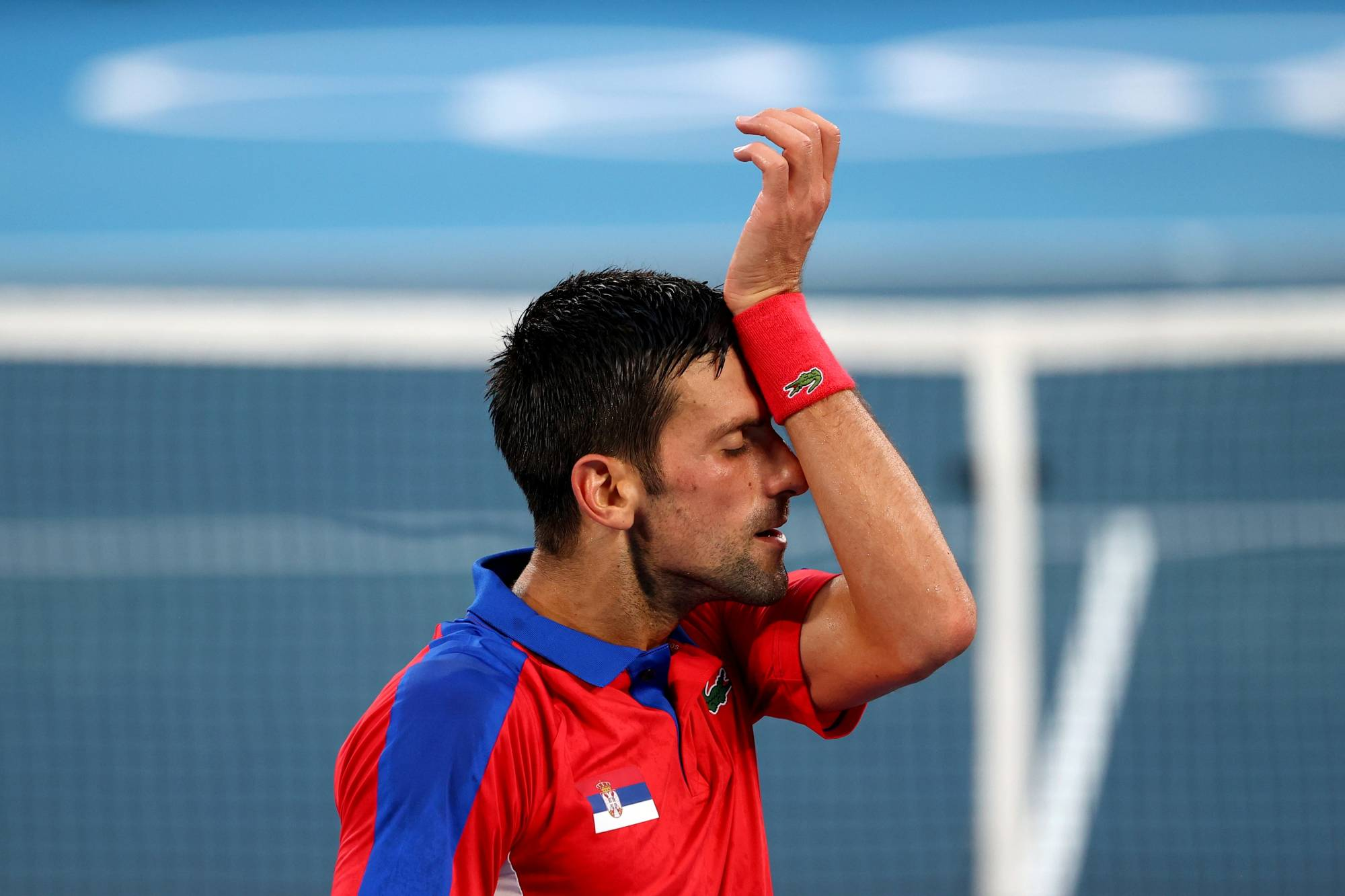 Novak Djokovic of Serbia was beaten by Alexander Zverev of Germany in his semifinal tennis match at the Tokyo Games on Friday. | REUTERS