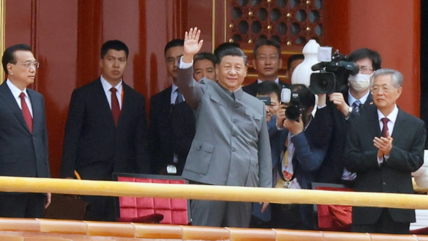 Xi hails 'irreversible' rise of China on 100th birthday of Communist Party