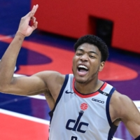 Wizards forward Rui Hachimura will help lead the Japanese delegation into National Stadium as part of the Tokyo Olympic opening ceremony.  | USA TODAY / VIA REUTERS