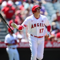Shohei Ohtani has hit 31 home runs in 2021, matching the single-season record by a Japanese player.  | USA TODAY / VIA REUTERS