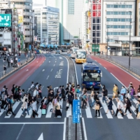 Tokyo confirmed 593 new cases of COVID-19 on Tuesday. | AFP-JIJI