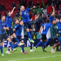 Italy reaches Euro final to continue comeback from World Cup failure