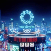In a spot for the BBC, production company Nexus, with direction and VFX from Factory Fifteen and design by Fantasista Utamaro, imagine a neon Tokyo with Olympians thrust into Japanese culture.   | SCREEN SHOT VIA YOUTUBE
