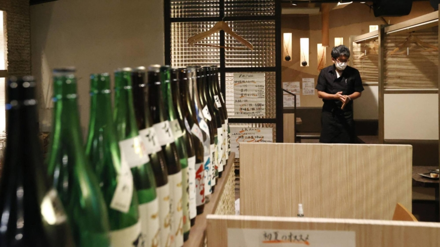 Restaurants in Tokyo outraged over another alcohol ban