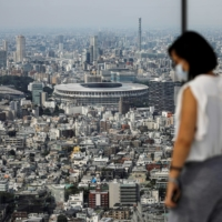 Only a portion of ticket holders will be able to watch the Tokyo Games in person.   REUTERS